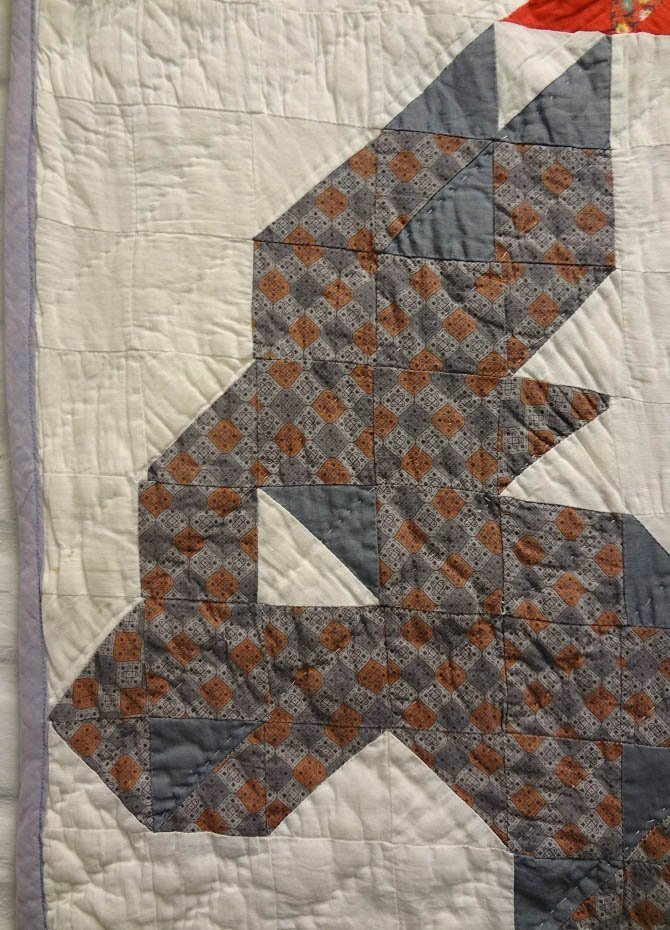 20th C Democratic Donkey Pieced Quilt - 3