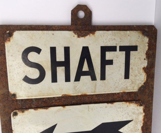 Early 20th C Iron Sign - 2