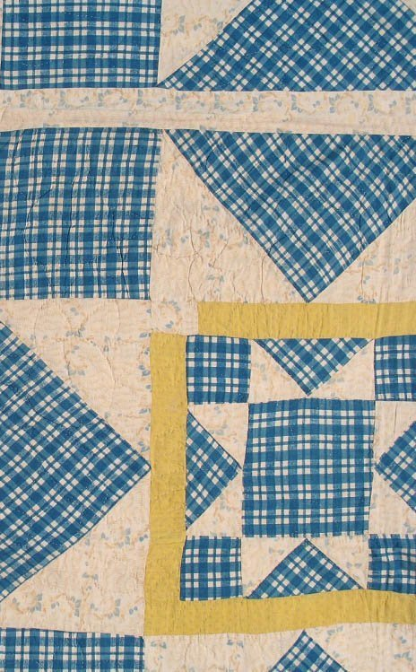 20th C Rising Star Pieced Quilt - 4
