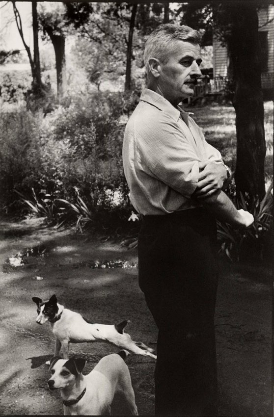 Cartier-Bresson: William Faulkner