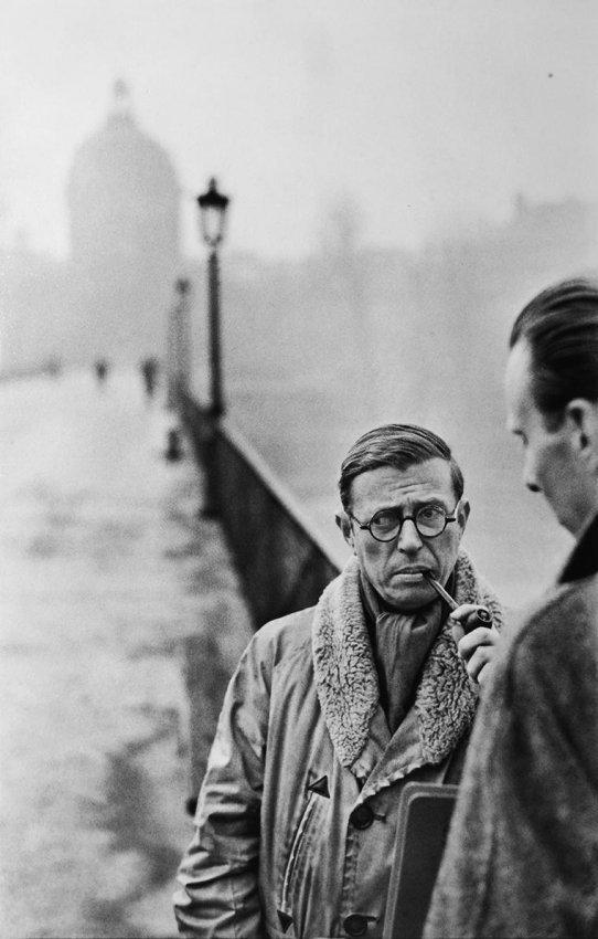 Cartier-Bresson: Jean-Paul Sartre