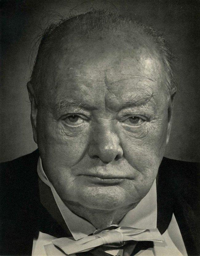 Yousuf Karsh: Winston Churchill