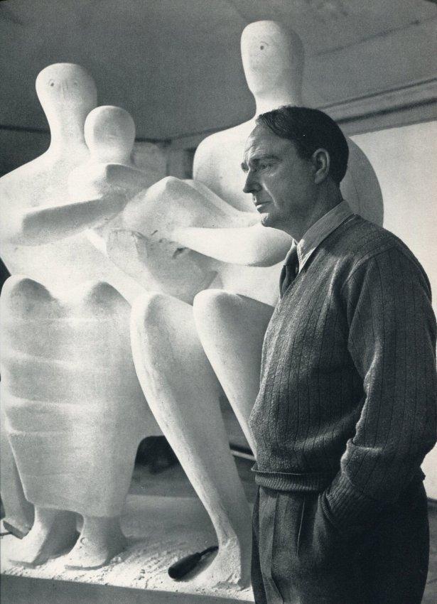 Yousuf Karsh: Henry Moore