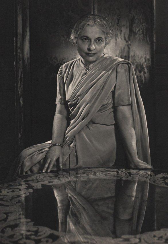 Yousuf Karsh: Madame Ranjit S Pandit