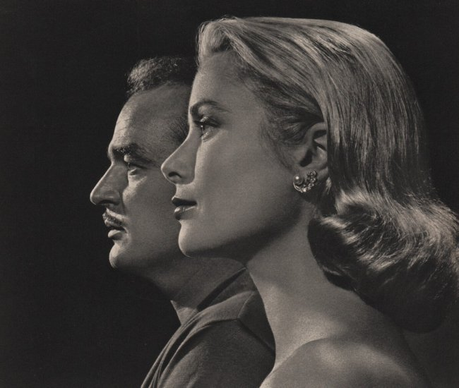 Yousuf Karsh: Prince Rainier & Princess Grace