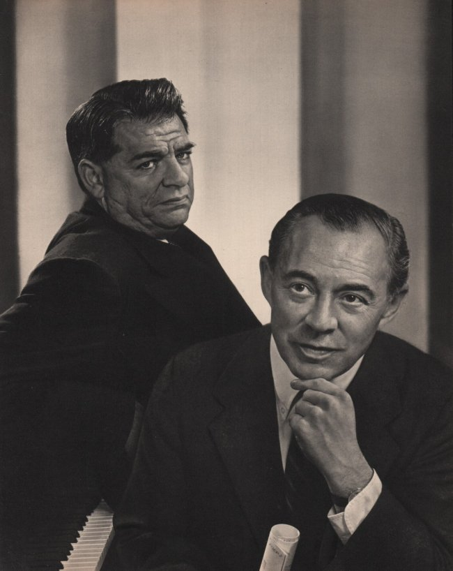 Yousuf Karsh: Rodgers & Hammerstein