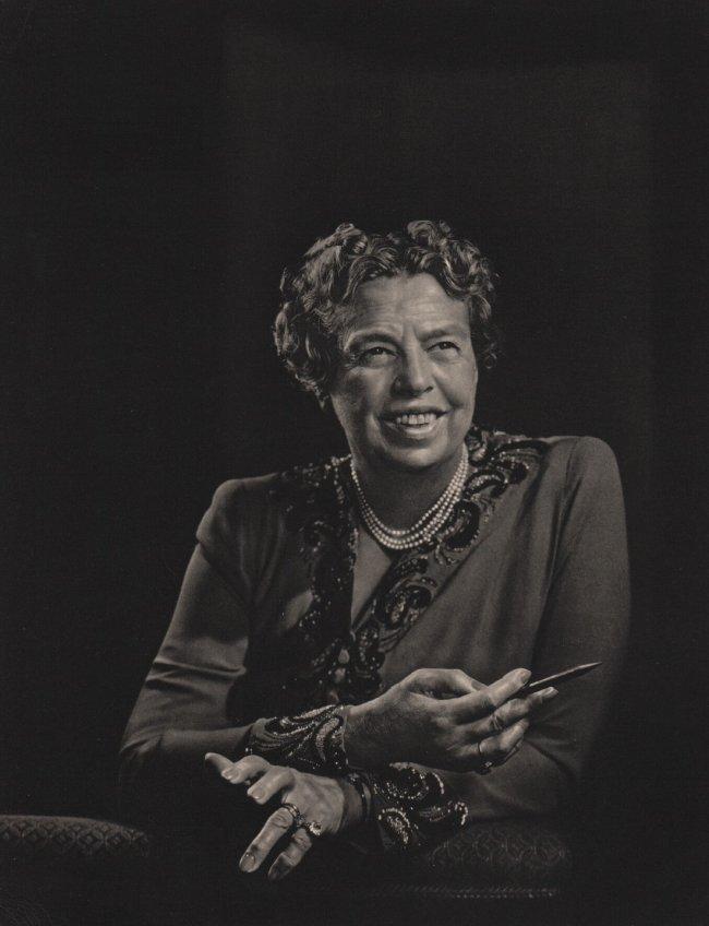 Yousuf Karsh: Eleanor Roosevelt