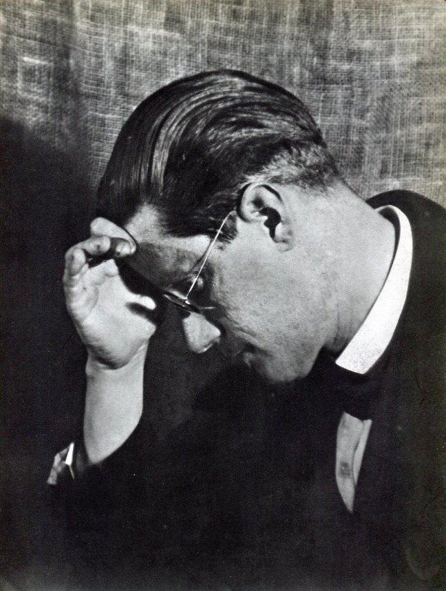 Man Ray: James Joyce
