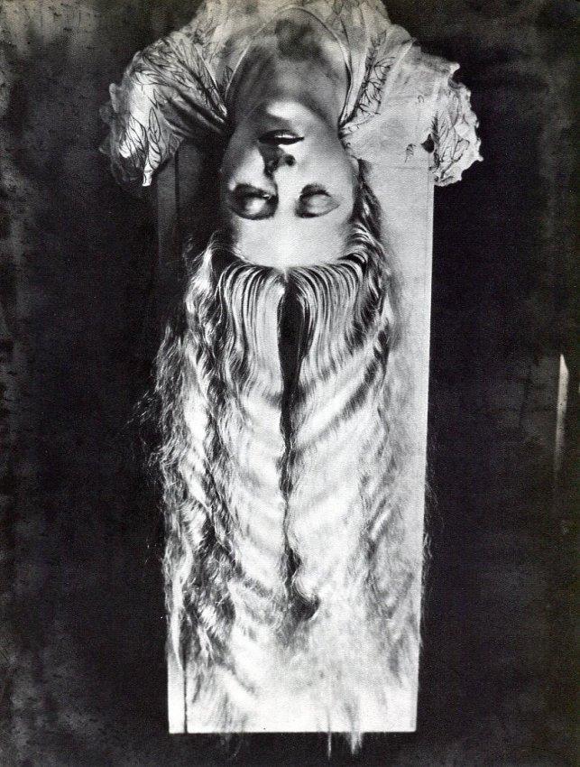 Man Ray: Jacqueline Goddard, Long Hair