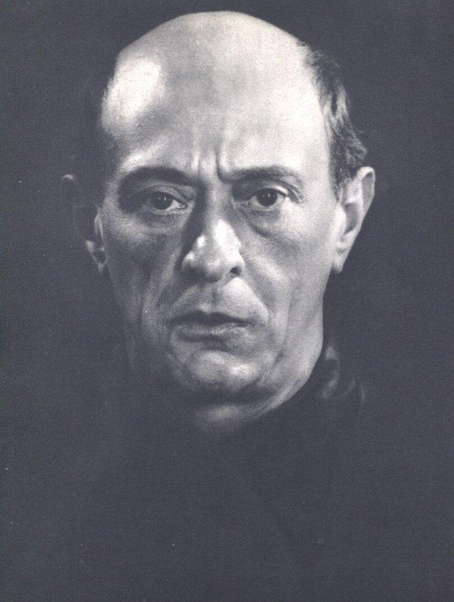 Man Ray: Arnold Schoenberg