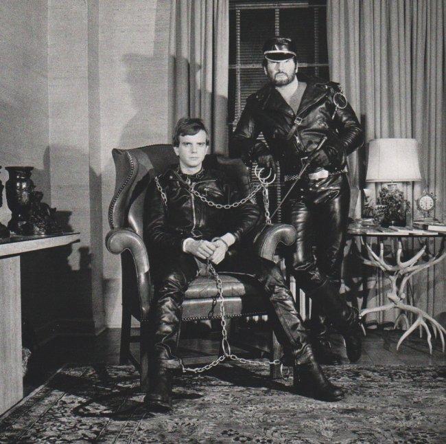 Mapplethorpe: Brian Ridley & Lyle Heeter, 1979