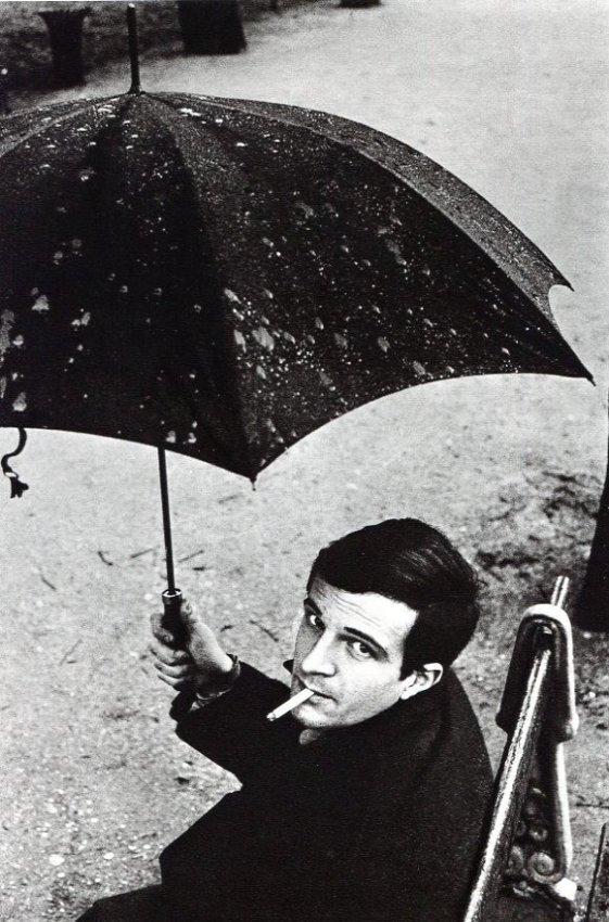 Jeanloup Sieff: Francois Truffaut 1959