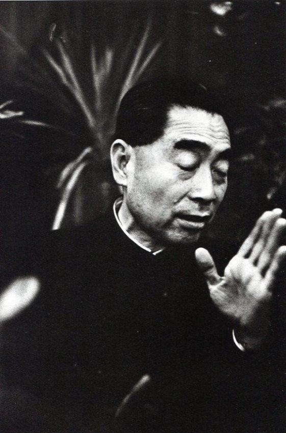Jeanloup Sieff: Tschou (Chou) En Lai, 1957
