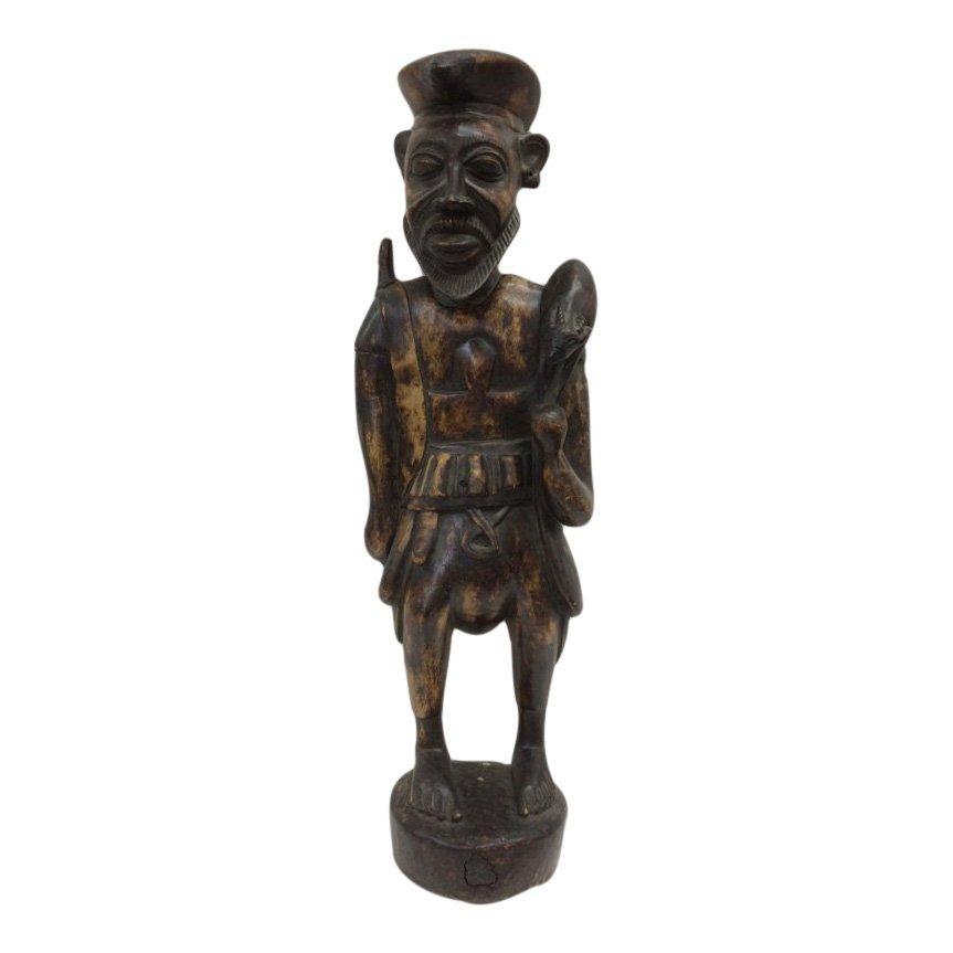 Standing Hunter Statue