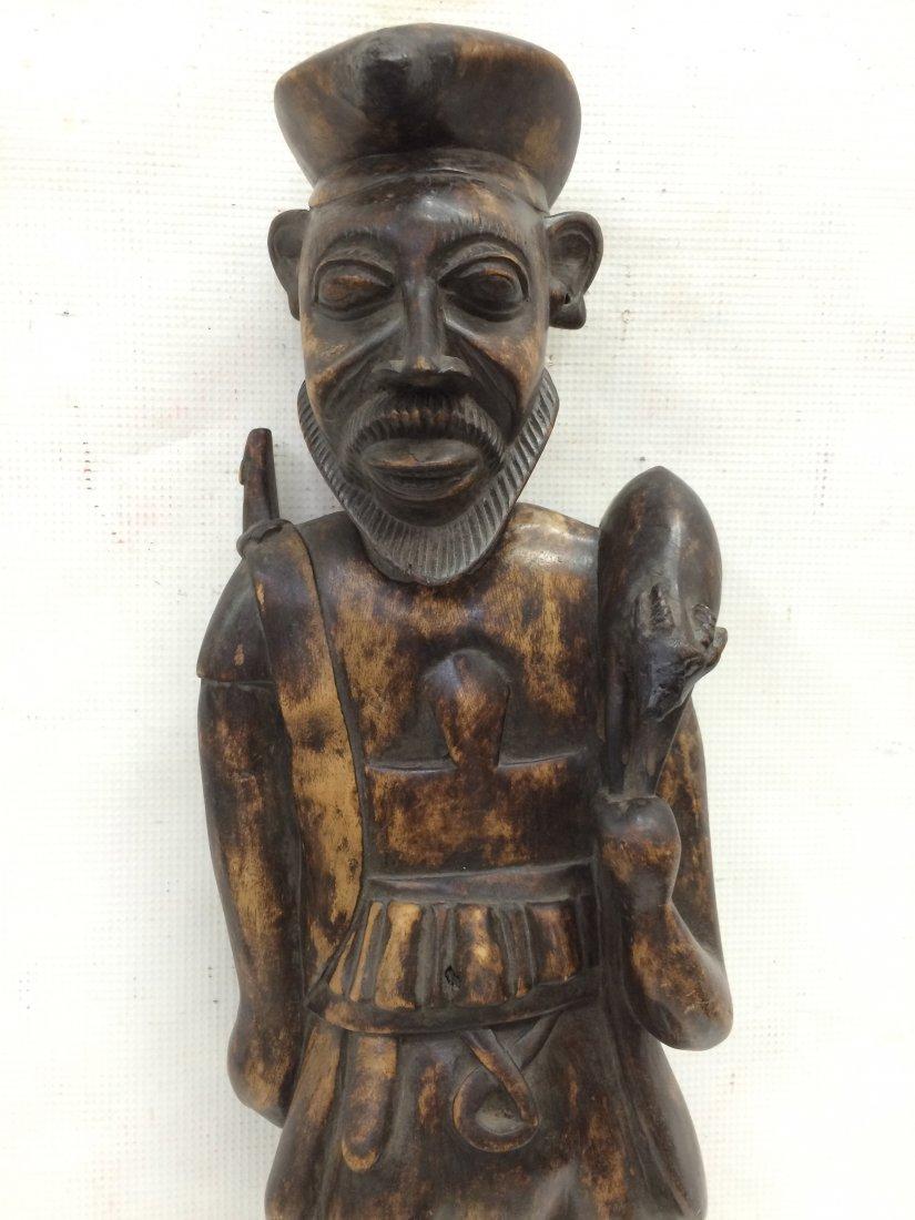 Standing Hunter Statue - 2