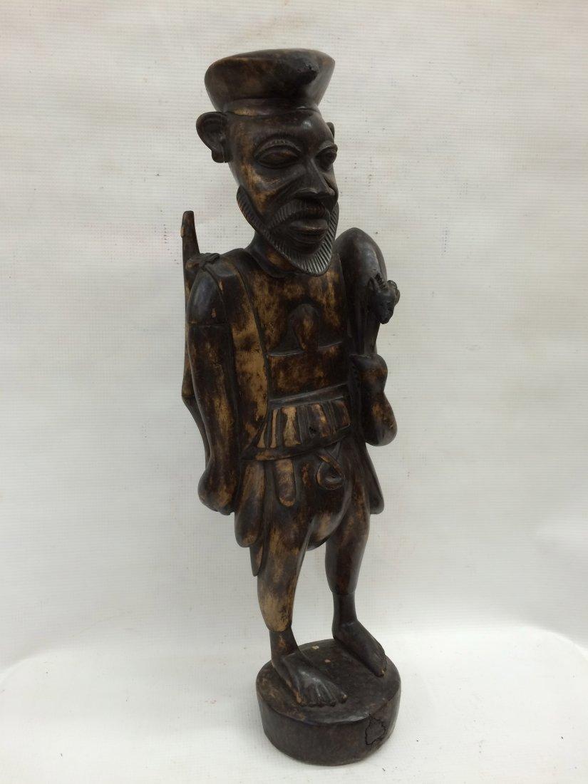 Standing Hunter Statue - 3