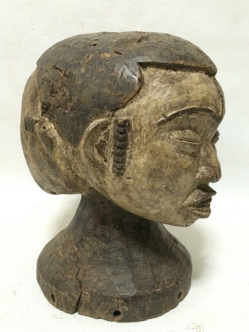 Igbo Double Head Statue - 3