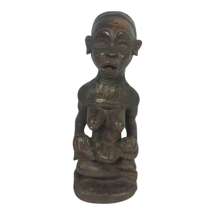 Bakongo Maternity Statue