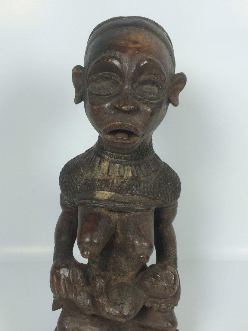 Bakongo Maternity Statue - 2