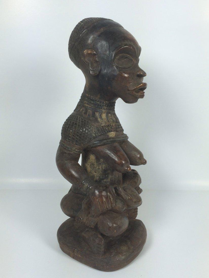 Bakongo Maternity Statue - 3