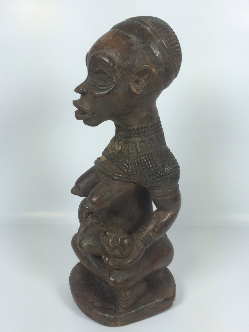 Bakongo Maternity Statue - 4