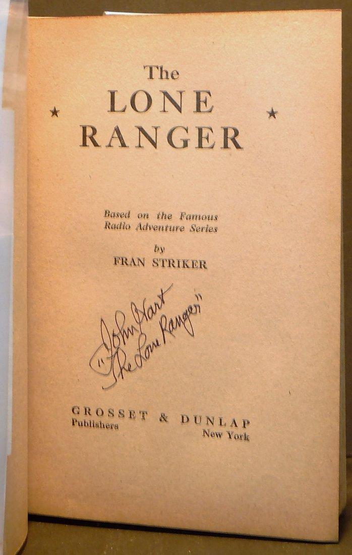 Fran Striker: The Lone Ranger - Signed - 2