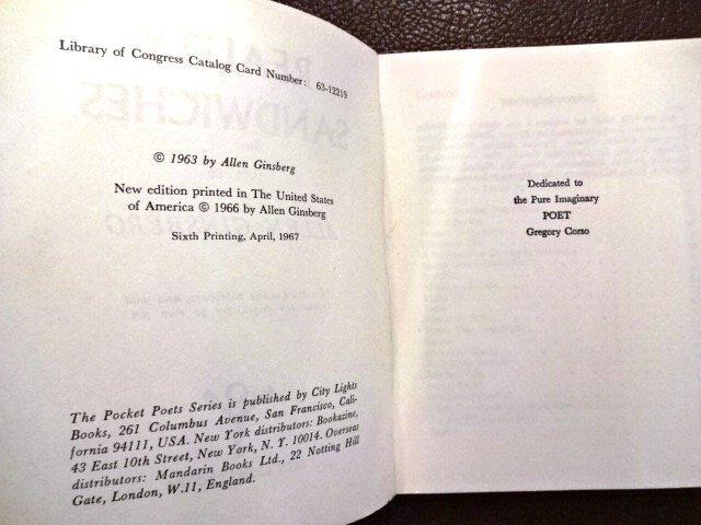 Allen Ginsberg: Reality Sandwiches, 1967 - 3