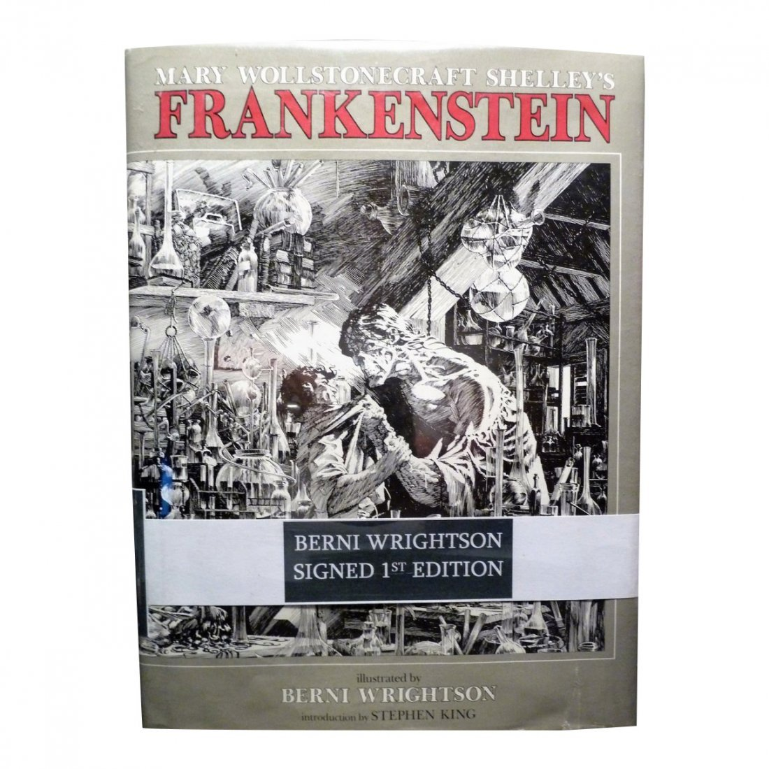 Mary Wollstonecraft Shelley: Frankenstein - Signed
