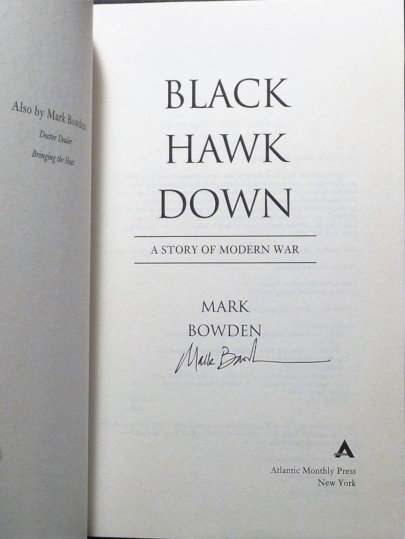 Mark Bowden: Black Hawk Down - Signed - 2