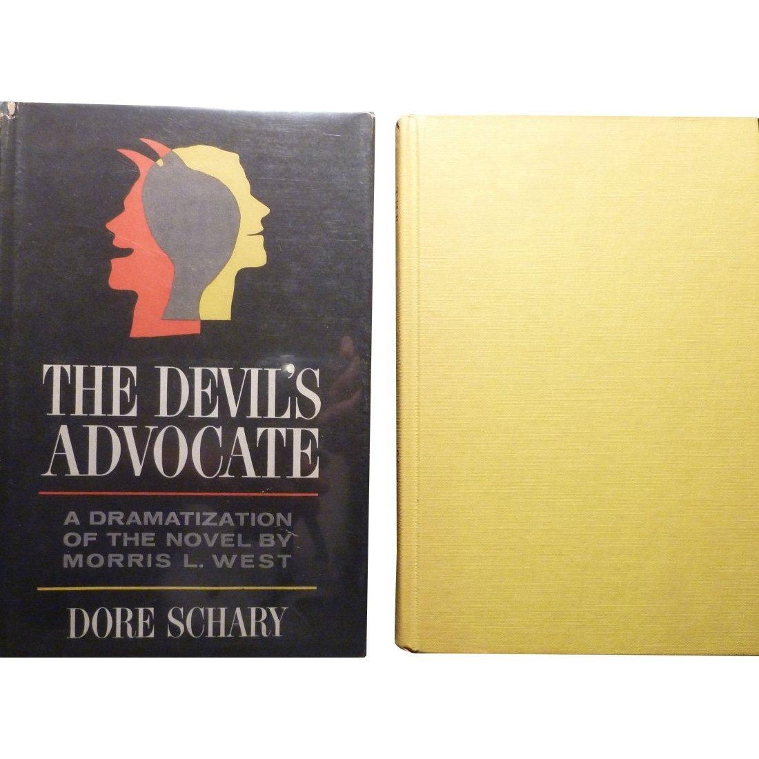 Dore Schary: The Devil's Advocate - Signed