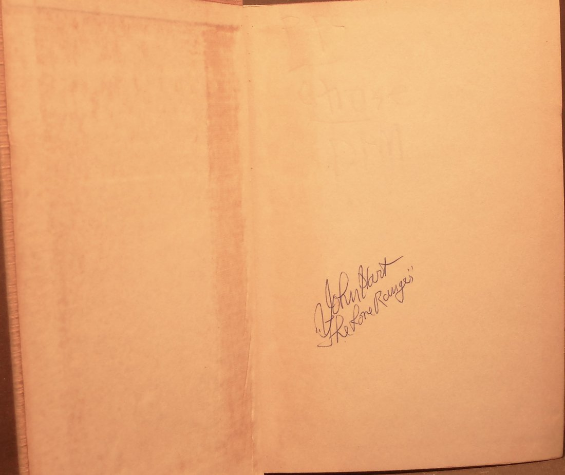 The Lone Ranger at the Haunted Gultch - Signed - 2