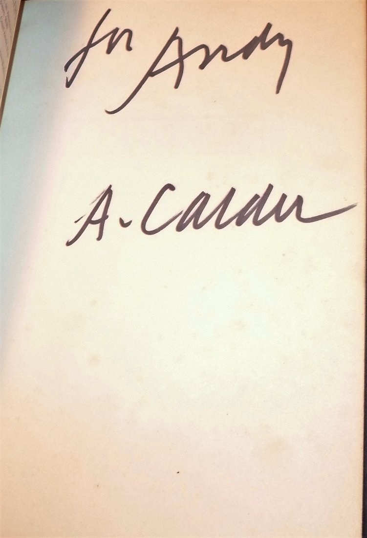 Fables of Aesop - Signed by Alexander Calder - 3