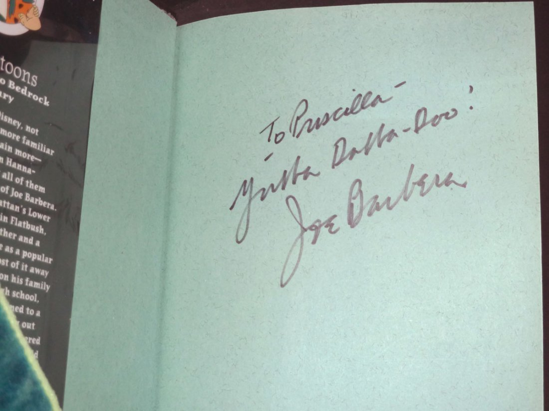 Joseph Barbera: My Life in 'Toons - Signed - 2