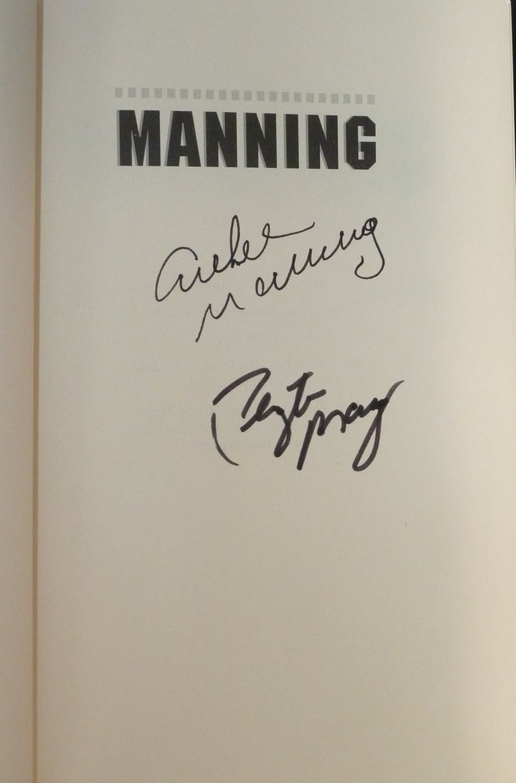 Manning: A Father, His Sons & Football Legacy - Signed - 3