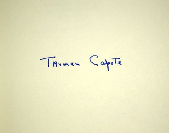 Truman Capote: Other Voices, Other Rooms - Signed - 2