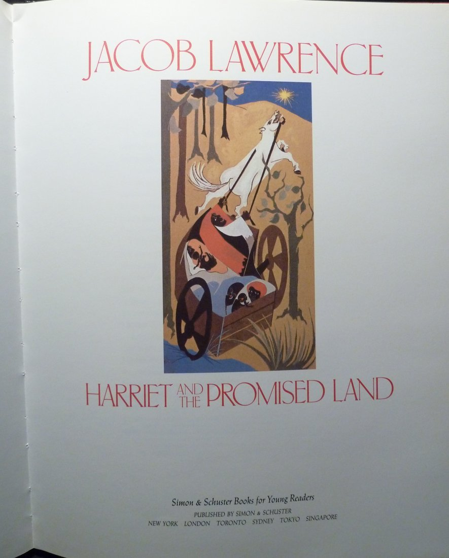 Jacob Lawrence: Harriet and the Promised Land - Signed - 3