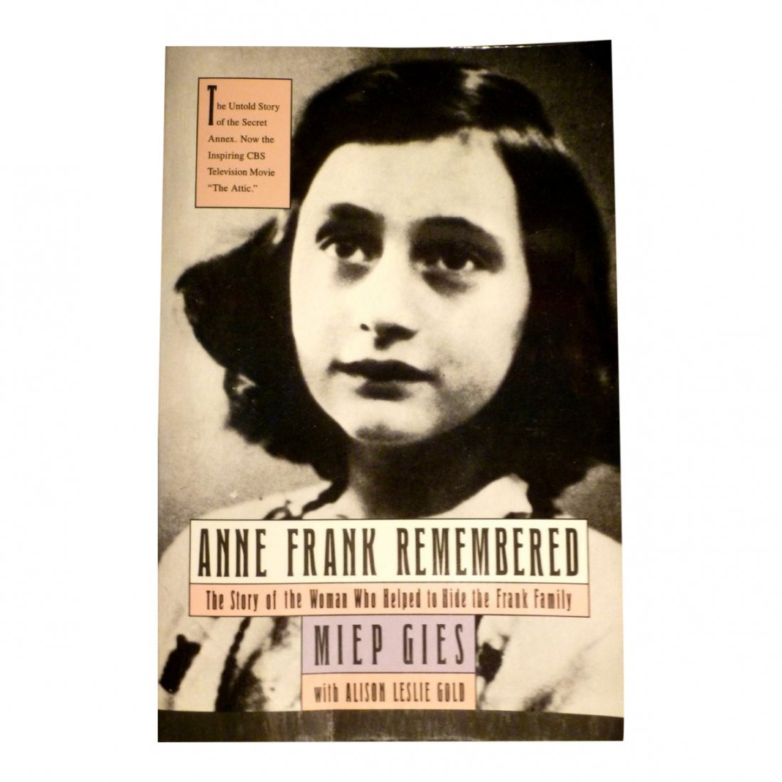 Miep Gies: Anne Frank Remembered - Signed