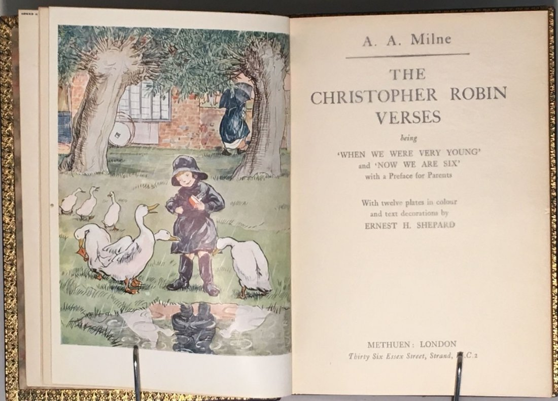 A. A. Milne: The Christopher Robin Verses - 2