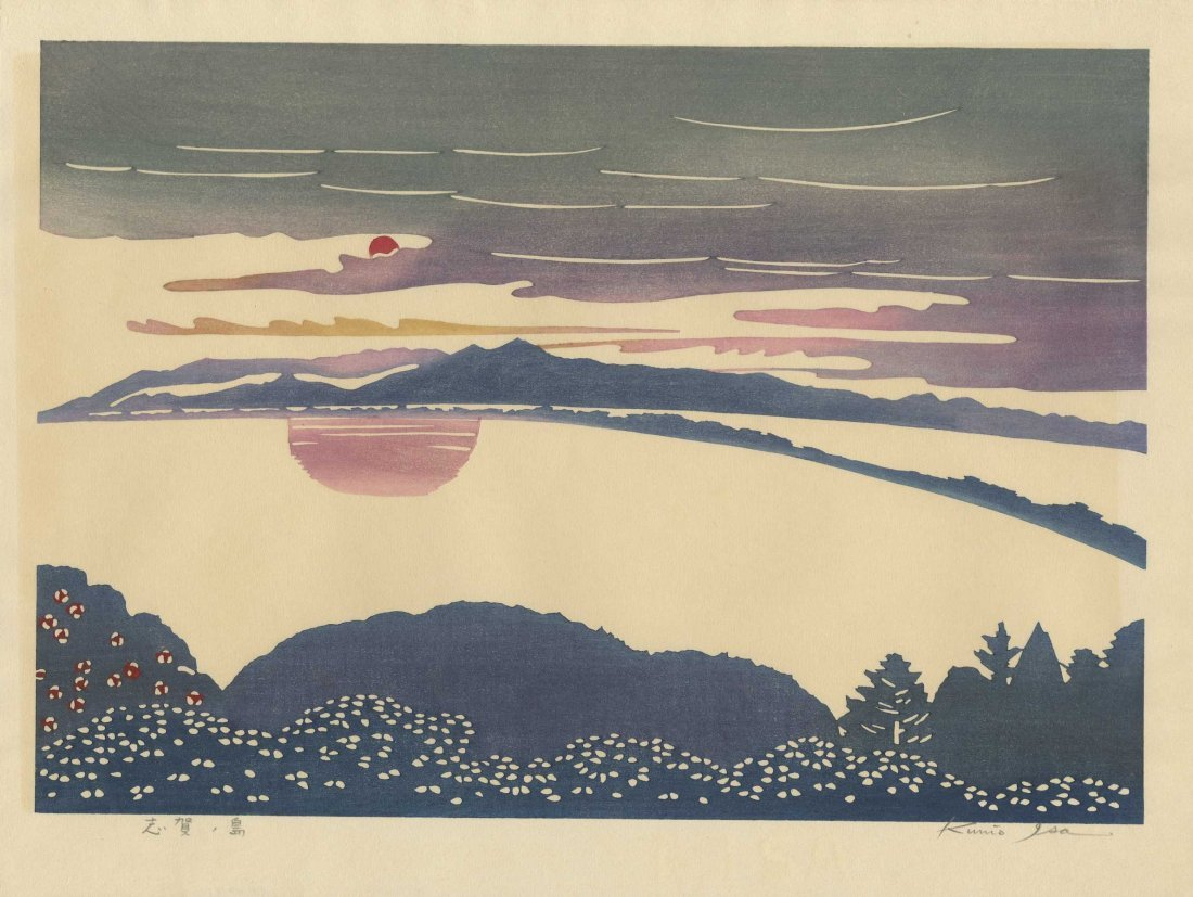 Kunio Isa: Sunset, 1967