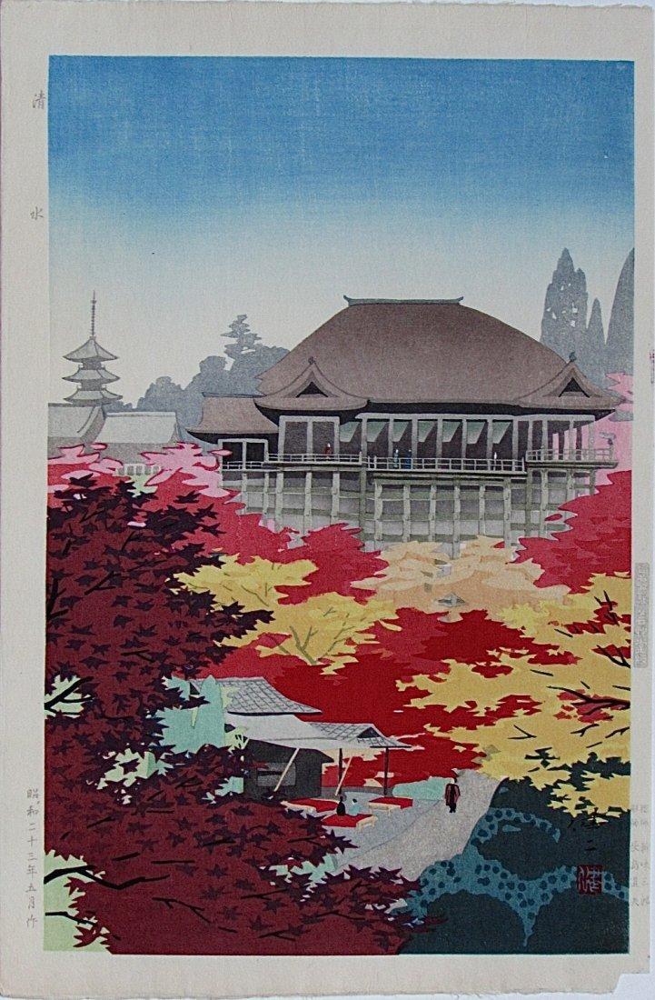 Kenji Kawai: Kiyomizu Temple