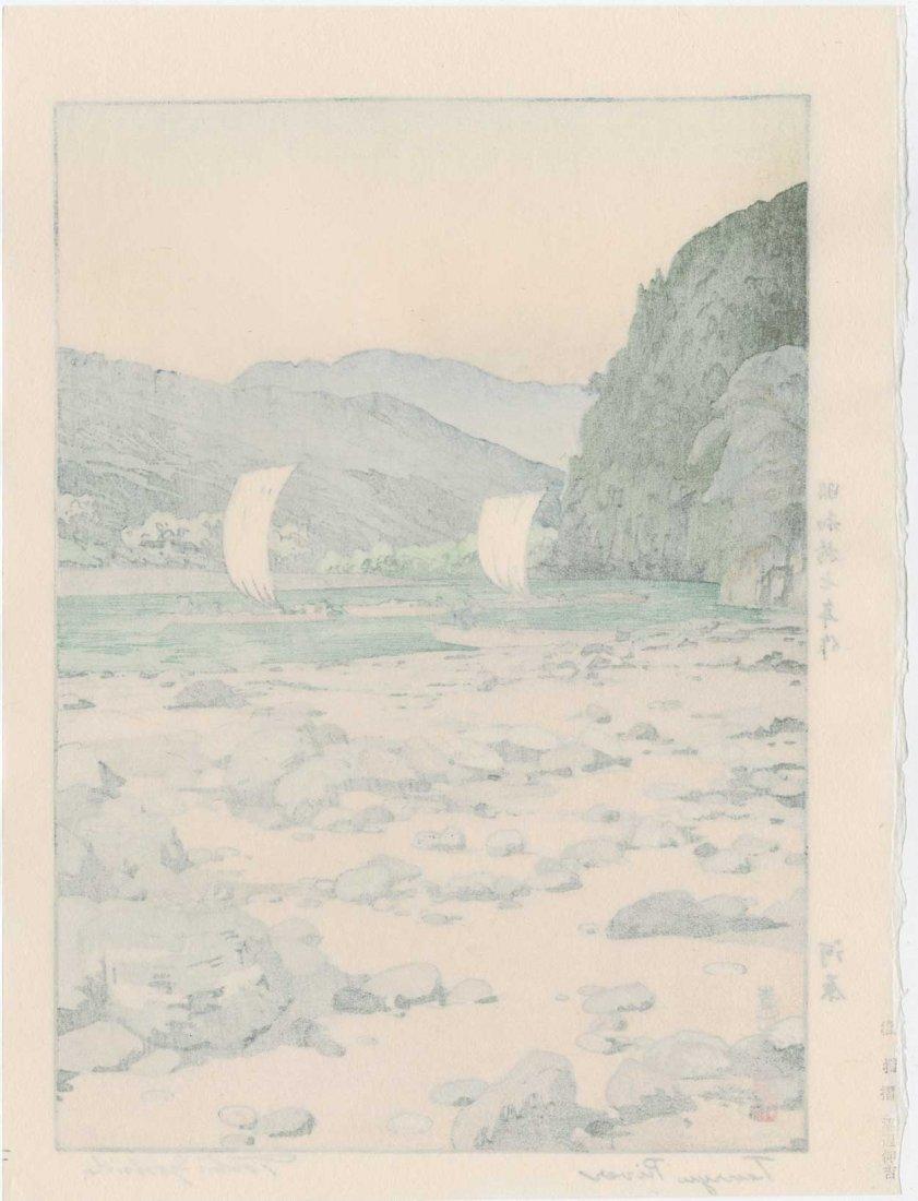 Toshi Yoshida: Tenryu River, 1942 - 2
