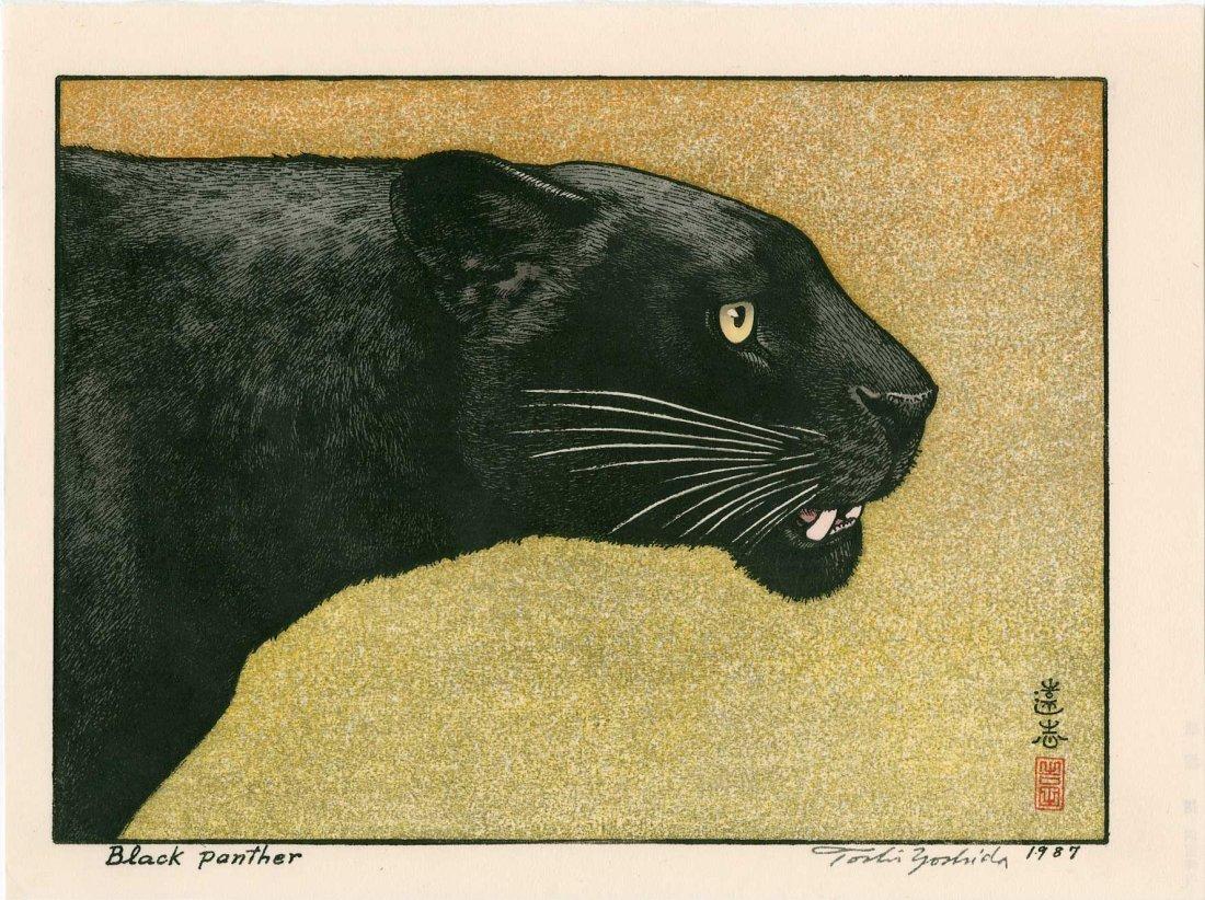 Toshi Yoshida: Black Panther, 1987