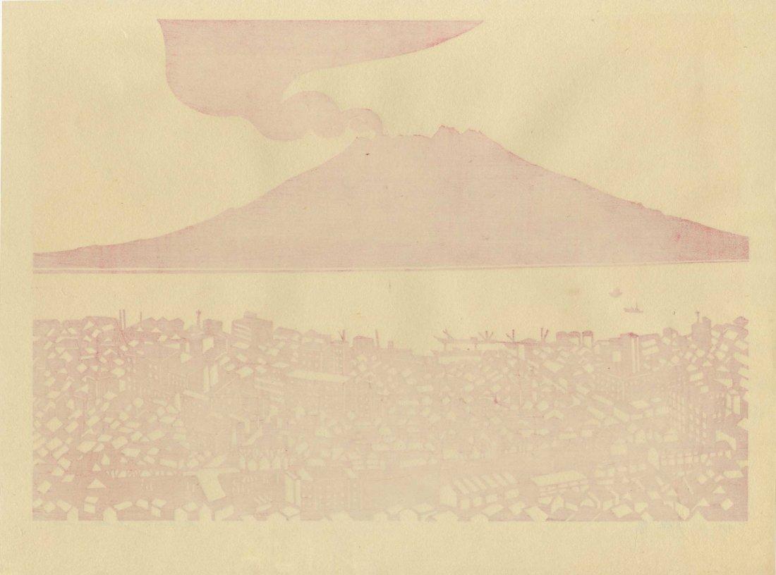 Kunio Isa: Volcano, 1967 - 2
