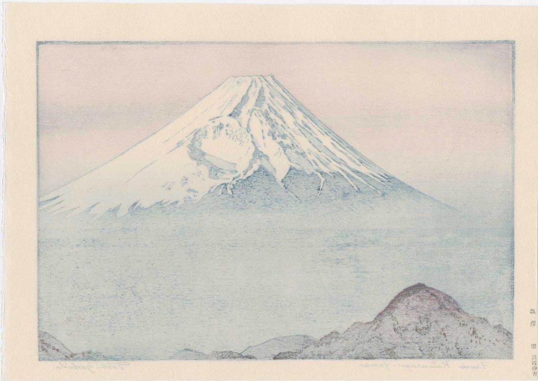 Toshi Yoshida: From Katsuragi, Yama, 1983 - 2