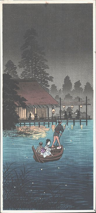 Shotei: Hunting Fireflies in a Cool Breeze #1, 1930
