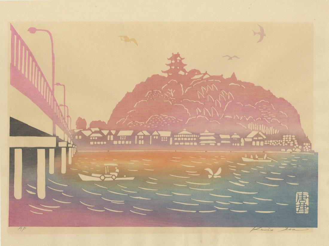 Kunio Isa: Enoshima Island, 1967