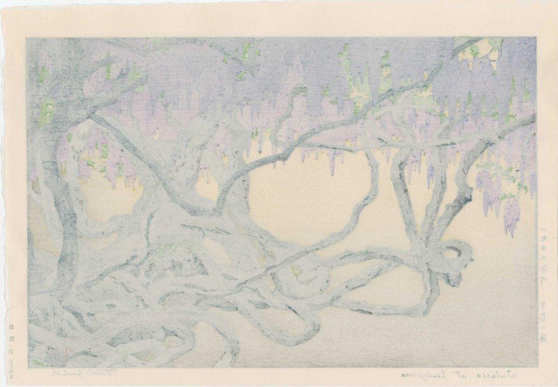 Toshi Yoshida: Wisteria at Ushijima, 1953 - 2