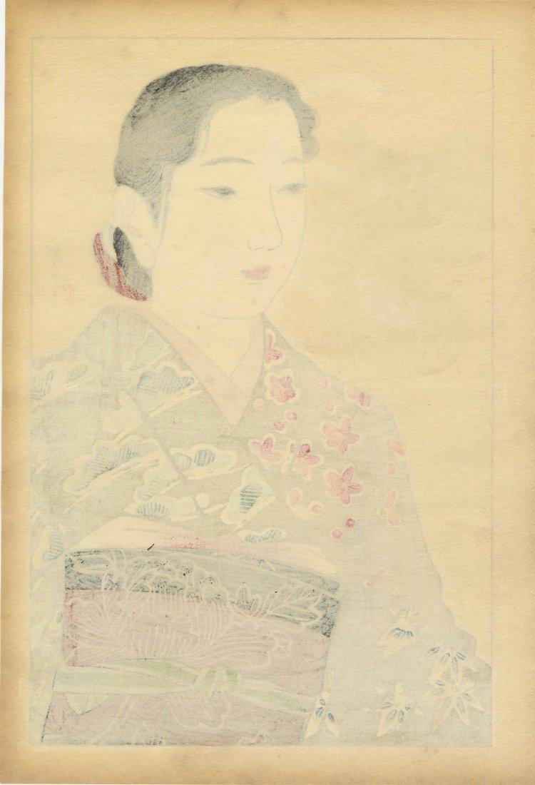 Yamakawa Shuho: Kimono Model, 1930s - 2