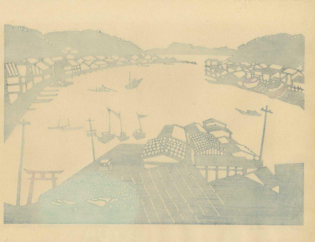 Kunio Isa: Fishing Village, 1967 - 2