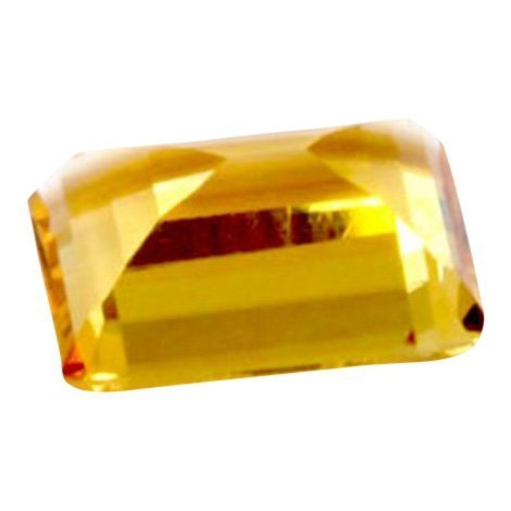 Citrine Emerald Cut Loose Stone, 6 ctw